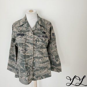 United States US Air Force Jacket Camouflage Green